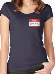 Swarley Women's Fitted Scoop T-Shirt