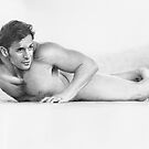 Untitled male study by David J. Vanderpool