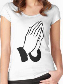DEAN BLUNT - THE REDEEMER (transparent) Women's Fitted Scoop T-Shirt