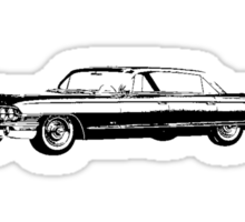 1961 Cadillac Sedan Sticker