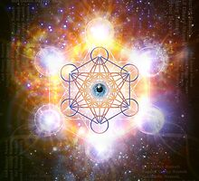 """Aad Guray Nameh""- Merkaba-  Protective energy of the Universe by Olga Kuczer"