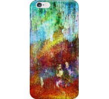 Rusty texture abstract iPhone Case/Skin