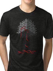 Cube Tree 0.01 Tri-blend T-Shirt