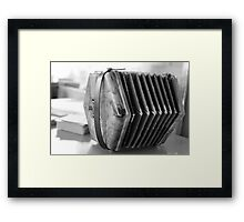The Accordion Framed Print