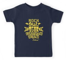 Rock Out with your Blocks Out! by lilterra.com Kids Tee
