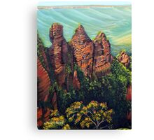 Three Sisters, Blue Mountains Canvas Print