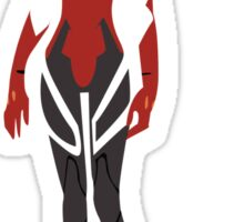 Asuka - Evangelion (2nd) Sticker