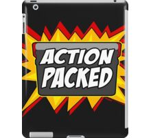 Action Packed iPad Case/Skin