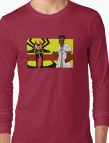 Samurai Black Dynamite Long Sleeve T-Shirt
