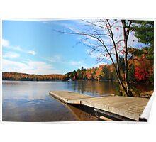 Lake of Bays Jetty Poster
