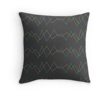Original Colors Throw Pillow