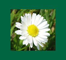 Laughing White Daisy  Womens Fitted T-Shirt
