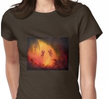 Mystical forest Fairy fantasy Womens Fitted T-Shirt