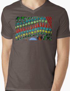 Mixed Vegetables Mens V-Neck T-Shirt