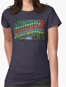 Mixed Vegetables Womens Fitted T-Shirt
