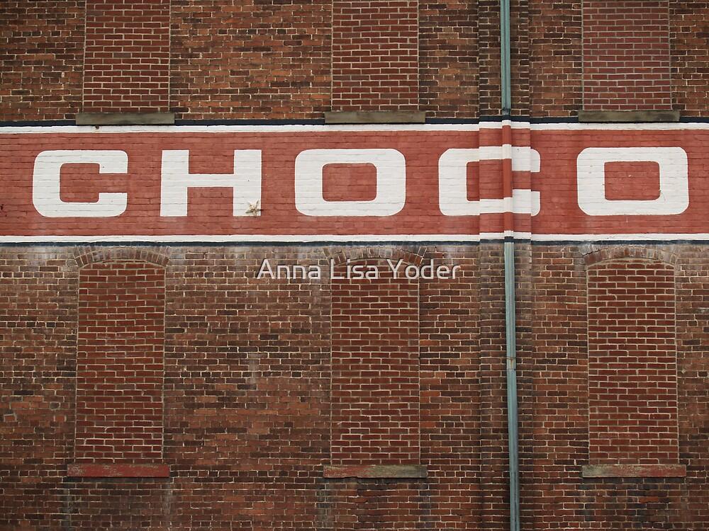 Wilbur Chocolate Factory, Lititz PA by Anna Lisa Yoder