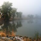 Morning Fog at Shadow Lake, Colorado by bluerabbit
