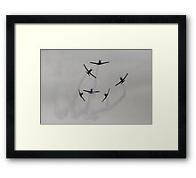 Aerobatics Framed Print