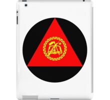 Roundel of Mozambique Air Force iPad Case/Skin