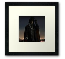 EDWARD MORDRAKE. Framed Print