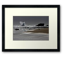 The Rise of the Angel Framed Print