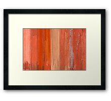 Outback Ripple Framed Print
