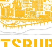 Pittsburgh Wasn't Built In A Day Sticker