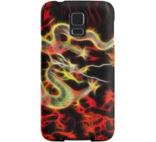 Dragon Fire on Lucky Energy Samsung Galaxy Case/Skin