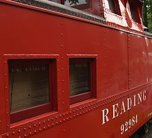 Old Reading Railroad Caboose in Lititz by Anna Lisa Yoder