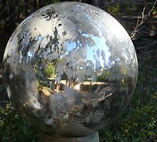 Weathered Globe by Cathy Jones