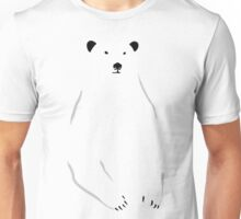 Polar Bear Profile Unisex T-Shirt