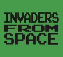 Space Invaders by elizabethrose05