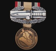 OIF Combat Action Badge by jcmeyer