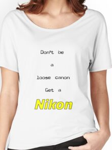 Nikon T Women's Relaxed Fit T-Shirt