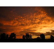 Toobeah Sunset Photographic Print