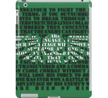 Imperial Guard Sigil iPad Case/Skin