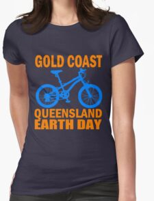 GOLD COAST-EARTH DAY Womens Fitted T-Shirt