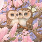 Love Owls by JamesBrowneArt
