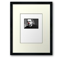 Louie Clown Framed Print