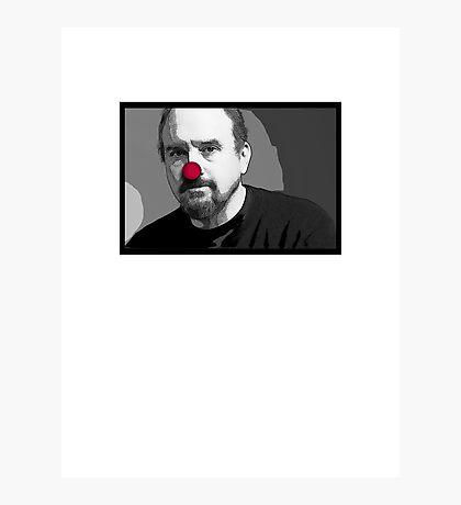 Louie Clown Photographic Print