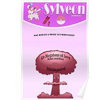 Sylveon wall poster Poster