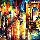 Paying A Visit — Buy Now Link - www.etsy.com/listing/222586445 by Leonid  Afremov