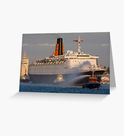 Queen Elizabeth 2 Greeting Card