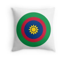 Roundel of the Namibian Air Force Throw Pillow