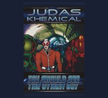 Judas Khemical preview cover by Simon Breese