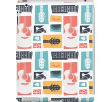 Guitar Collage iPad Case/Skin