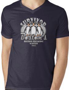 Survivor Boston's Record Breaking Winter 2015 Mens V-Neck T-Shirt