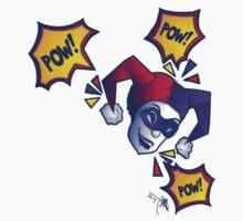 Harley Pow! Kids Tee