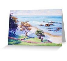 Flynns Beach - Port Macquarie Greeting Card