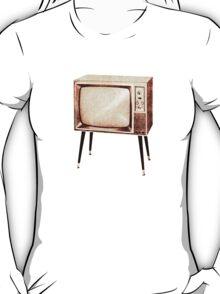 Stylish Retro Television (from the Vintage Magazine series) T-Shirt